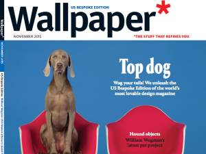 The cover of the first Wallpaper* Bespoke U.S. Edition (Photo: Courtesy Wallpaper*).