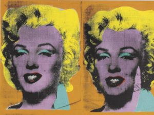 Andy Warhol, Four Marilyns, 1962. (Photo: Courtesy of Christie's)