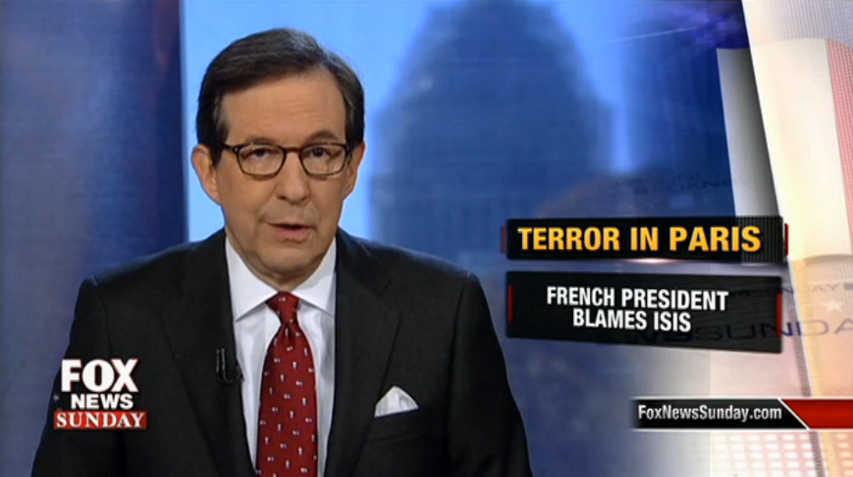 With Style and Substance, Fox News Sunday Tells the Story of Paris Attacks