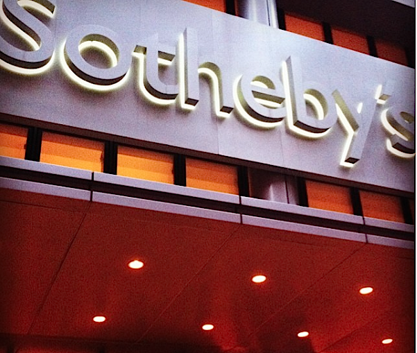 Sotheby's Online Sale of Emerging Art Tanks