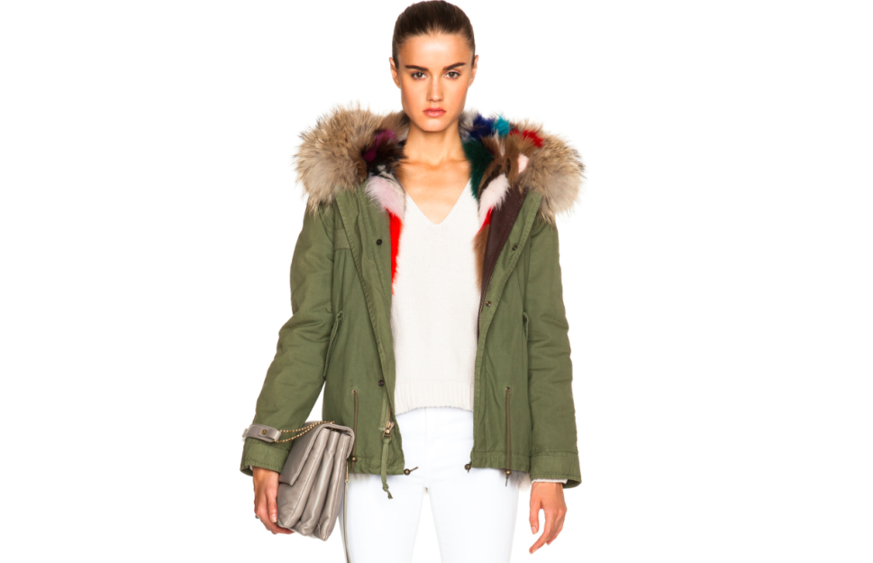 What Happens When the Classic Army Parka Receives a Furry Makeover?