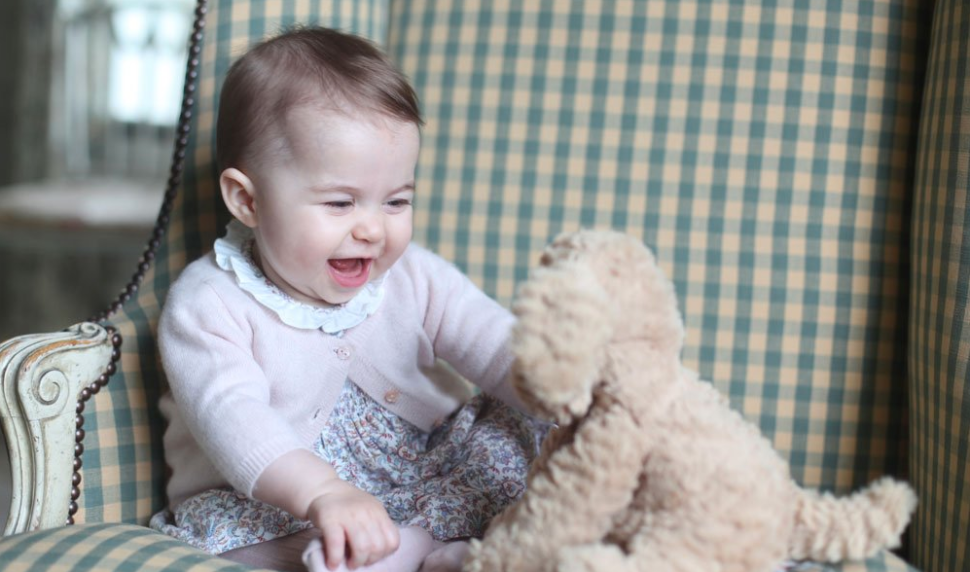 Twitterverse Celebrates Precious Princess Charlotte Pictures