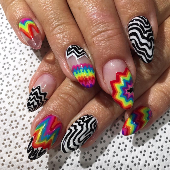Where to Get a Psychedelic Manicure at Art Basel
