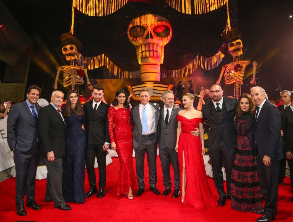 Daniel Craig's Last Hurrah as James Bond Debuted Last Night in Mexico City
