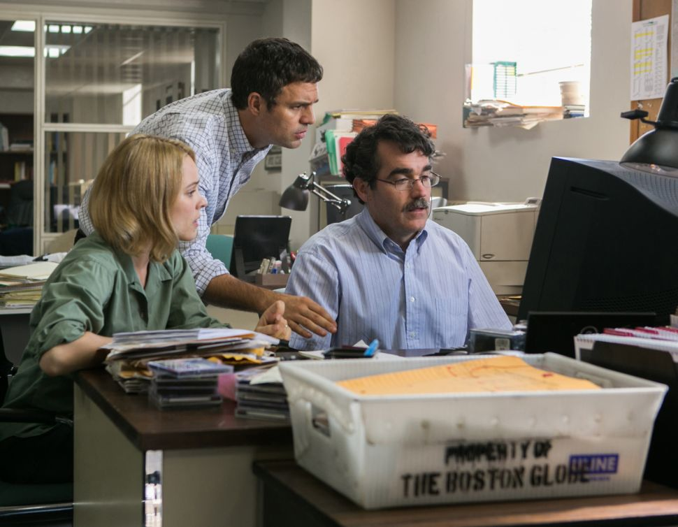 A Roar of Truth: 'Spotlight' Finds the Courage and Tenacity in Journalism