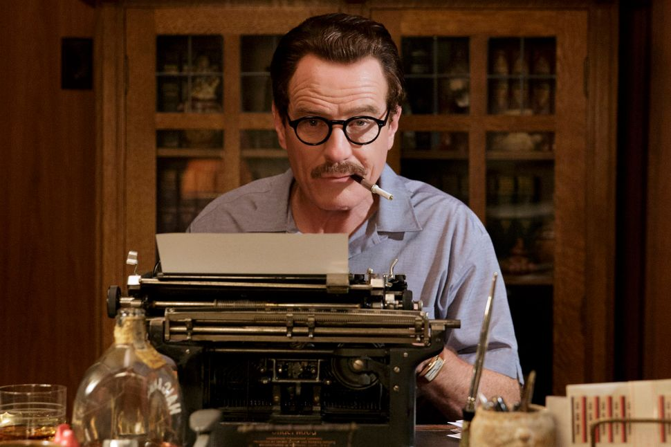 Bryan Cranston Channels Blacklisted Screenwriter Dalton Trumbo