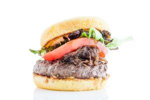 A turkey burger from Indie Fresh (Photo: Courtesy Indie Fresh).