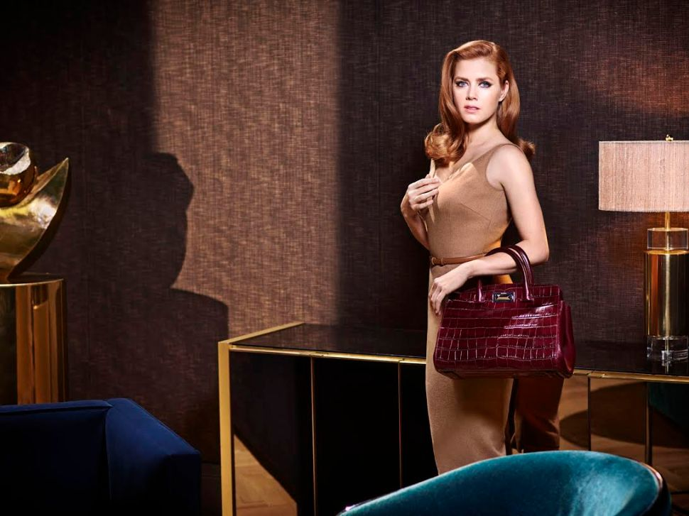 Even Amy Adams Understands the Importance of a Timeless Bag