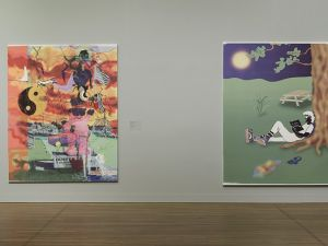 """Michael Williams, """"Yard Salsa"""", 2015, Installation View, Montreal Museum of Fine Art, Montreal, Canada (Photo: Courtesy of Canada Gallery)"""
