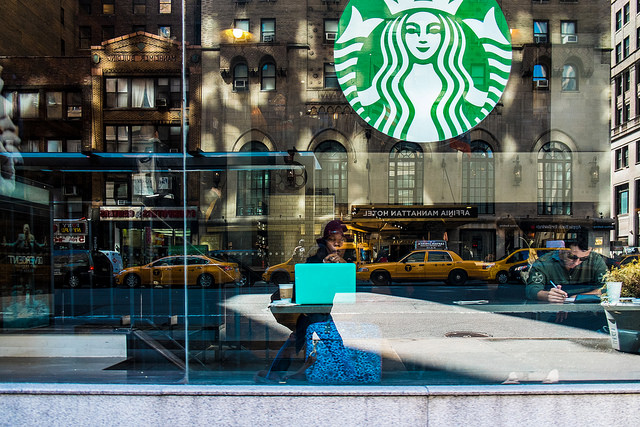 Starbucks is the Dominant Chain in Manhattan; Dunkin Donuts Rules the Outerboroughs
