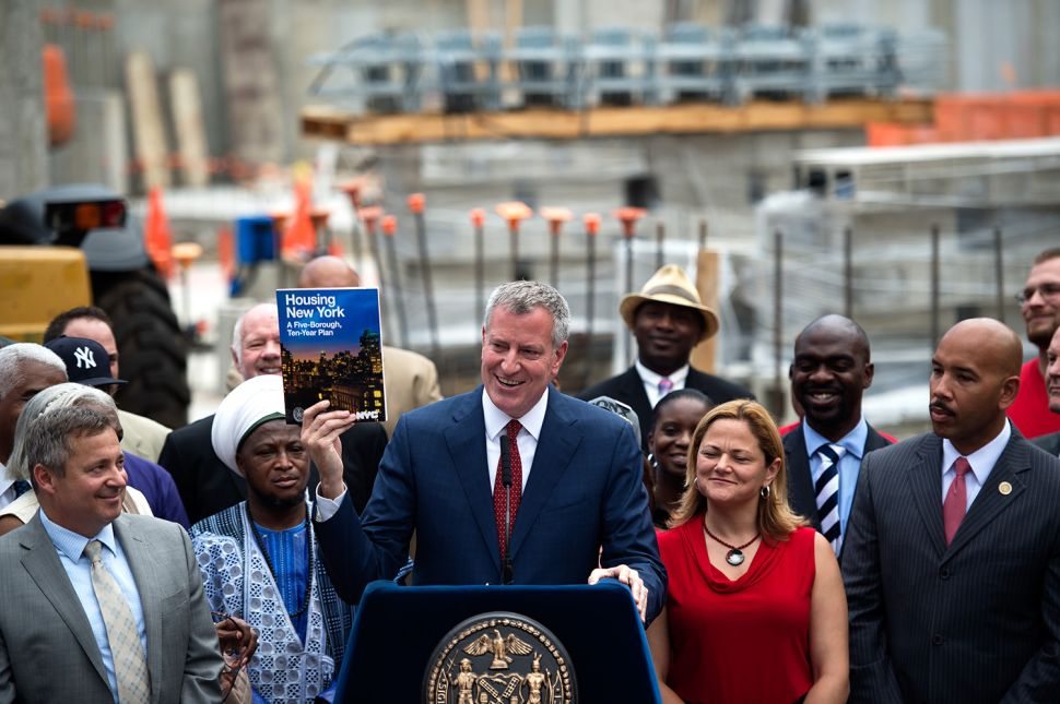 De Blasio Administration Now Says It Can Hit Its Housing Goals Without 421a