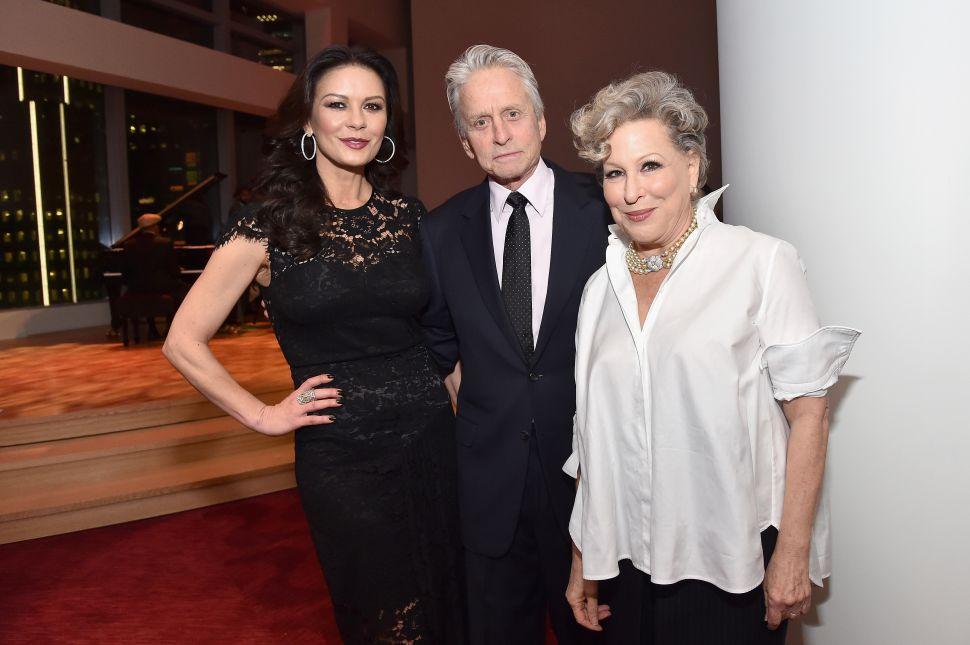 Michael Douglas, Catherine Zeta-Jones Attended Aretha Franklin's Surprise Christmas Performance