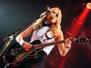 Among the items that are part of Amazon Music's giveaway week is a guitar signed by Carrie Underwood. (Photo: Flickr Creative Commons)