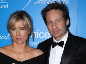 The X-Files: Tea Leoni and David Duchovny have finally sold their Upper East Side co-op. (Jimi Celeste/Patrick McMullan)