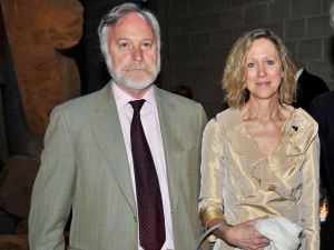 Art dealer Otto Naumann and his wife Heidi have said goodbye to one Yorkville co-op. (Ryan McCune/Patrick McMullan) ==