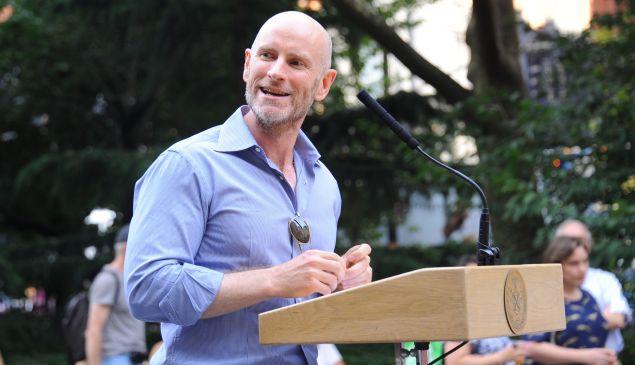 Public Art Fund director and chief curator Nicholas Baume. (Photo: Paul Bruinooge/PatrickMcMullan.com)