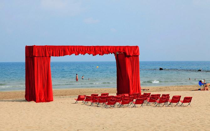 New Faena Hotel Kicks Off Ambitious Art Program With Three Beach Installations