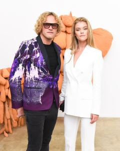 Peter Dundas, Nina Agdal (Photo: Billy Farrell Agency).