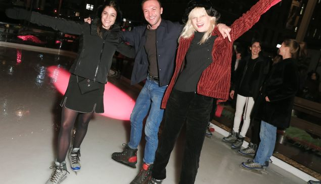 Julia Restoin Roitfeld, Tom Van Dorpe, Hanne Gaby Odiele (Photo: Matteo Prandoni for BFA).