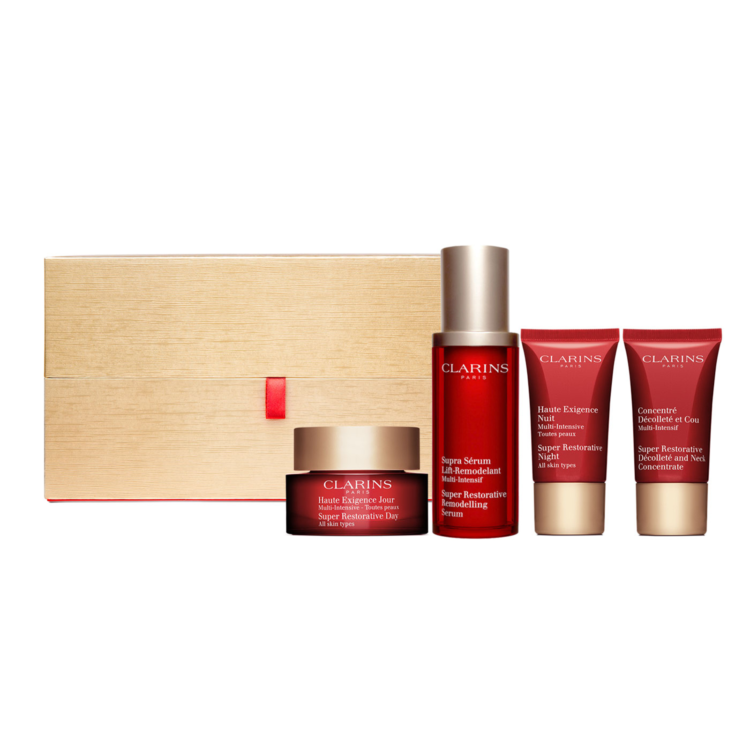 Clarins Super Restorative Luxury Collection, $205, Bloomingdales.com (Photo: Courtesy Clarins).