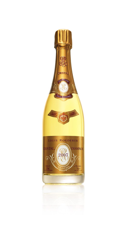 Cristal 2007 Champagne Louis Roederer, $249.00, Sherry-Lehmann.com (Photo: Courtesy Cristal).