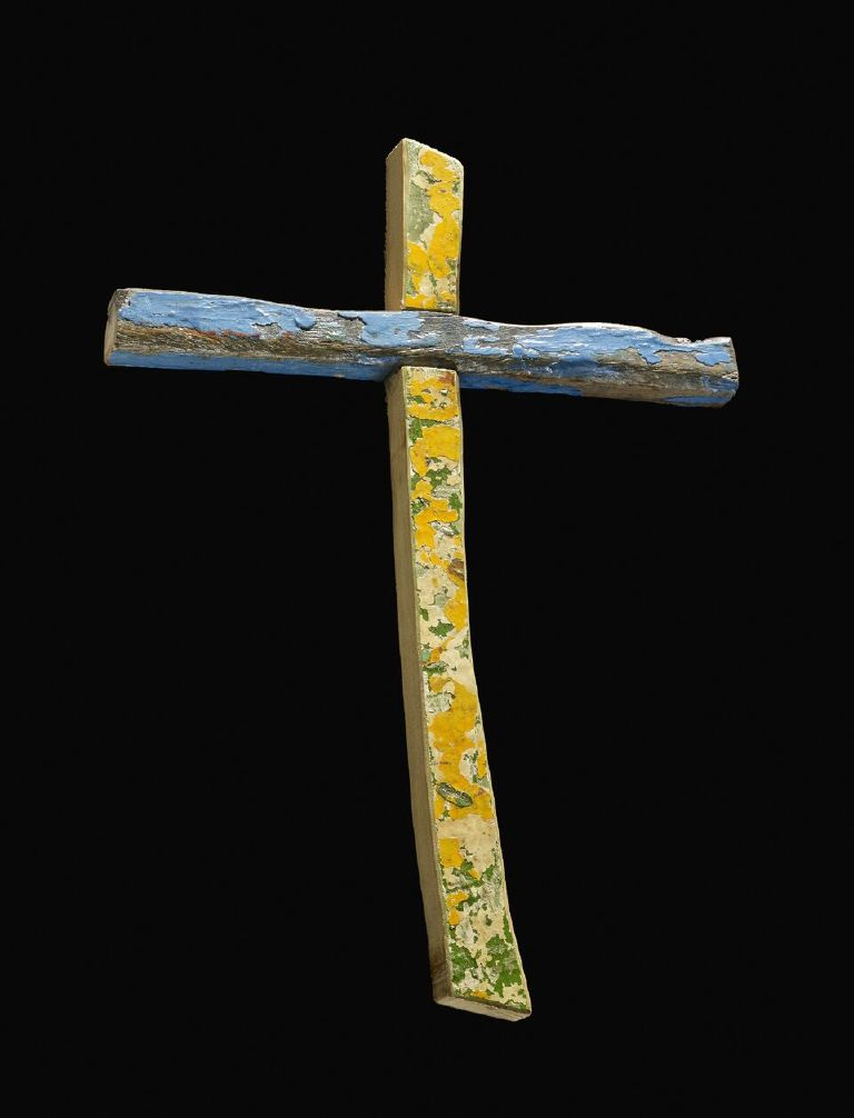 British Museum Head's Last Acquisition is a Cross In Honor of Refugees