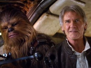 Han Solo and Chewbacca, or George Washington and Alexander Hamilton? (Photo: Twitter)