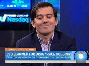 Martin Shkreli: a master of trolling, but a terrible person. (Photo: Twitter)
