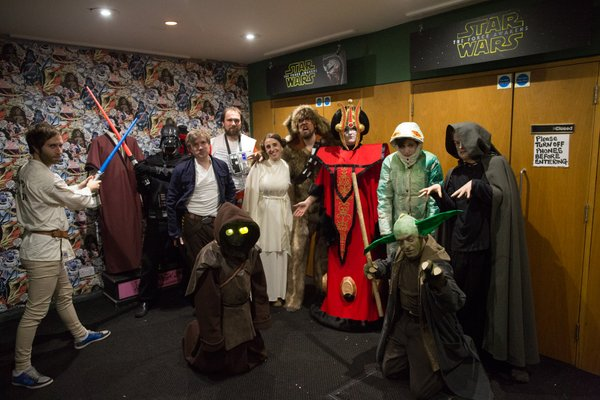 The Best Costumes Seen at Star Wars Screenings