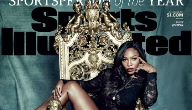 What horse? Serena Williams was the queen of sports this year. (Photo: Twitter)