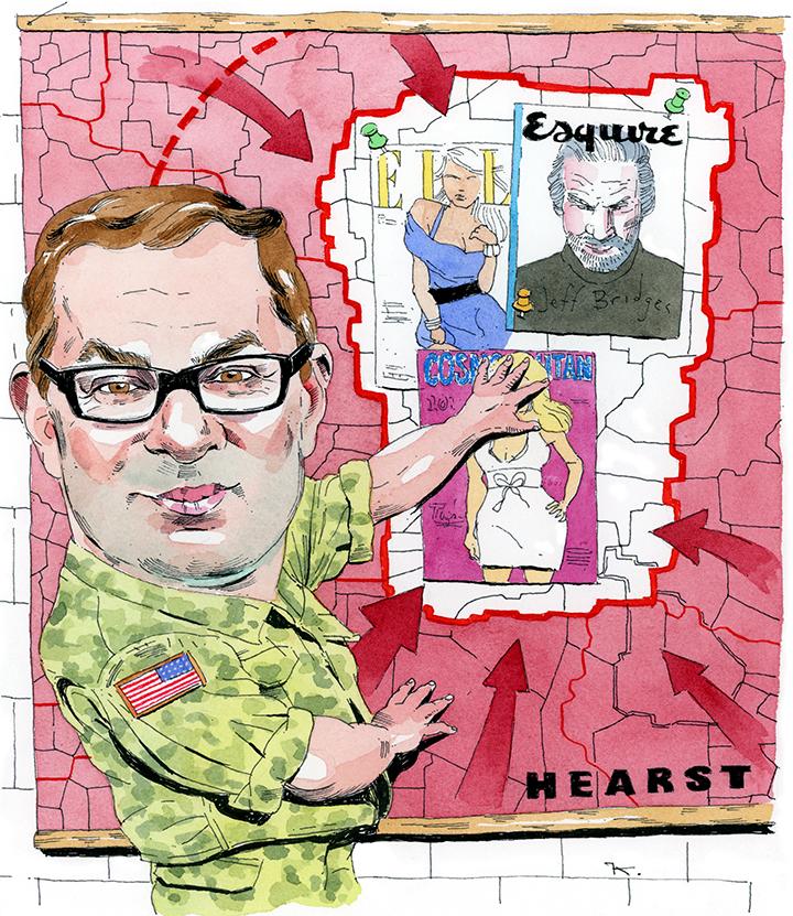 Hearst's David Carey Likens the Media Business to Asymmetric Warfare