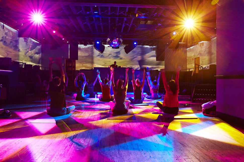 Verboten Yoga: Sin by Night and Atone by Day at Brooklyn Hotspot