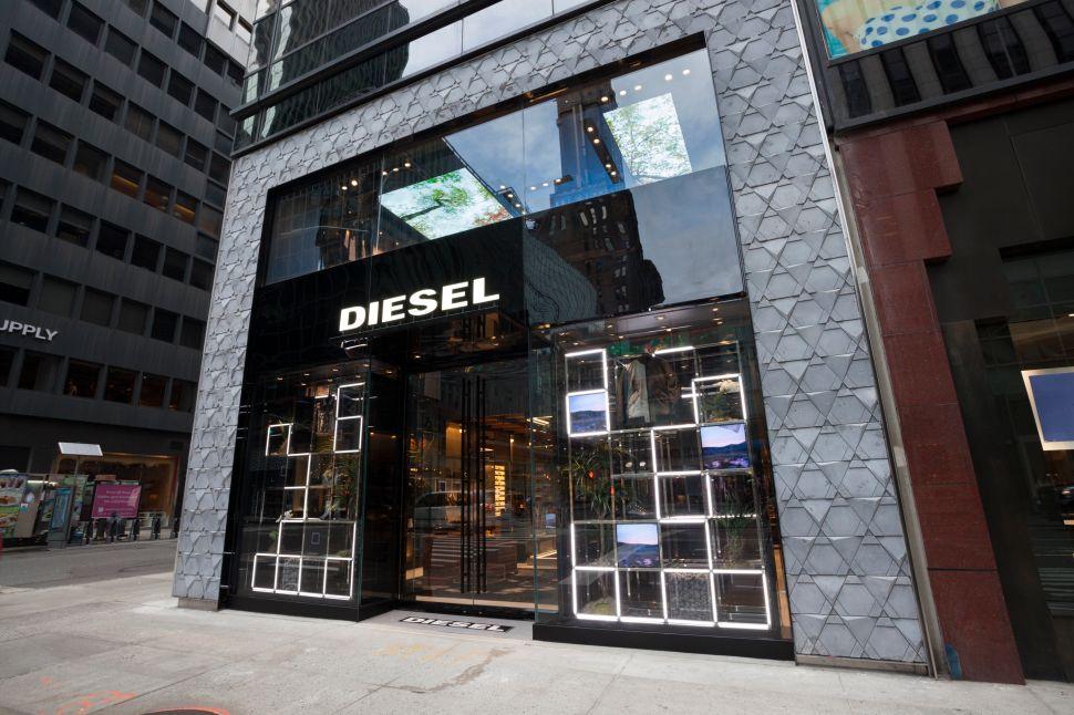 Diesel's Newest Flagship in Manhattan Features a Denim Temple