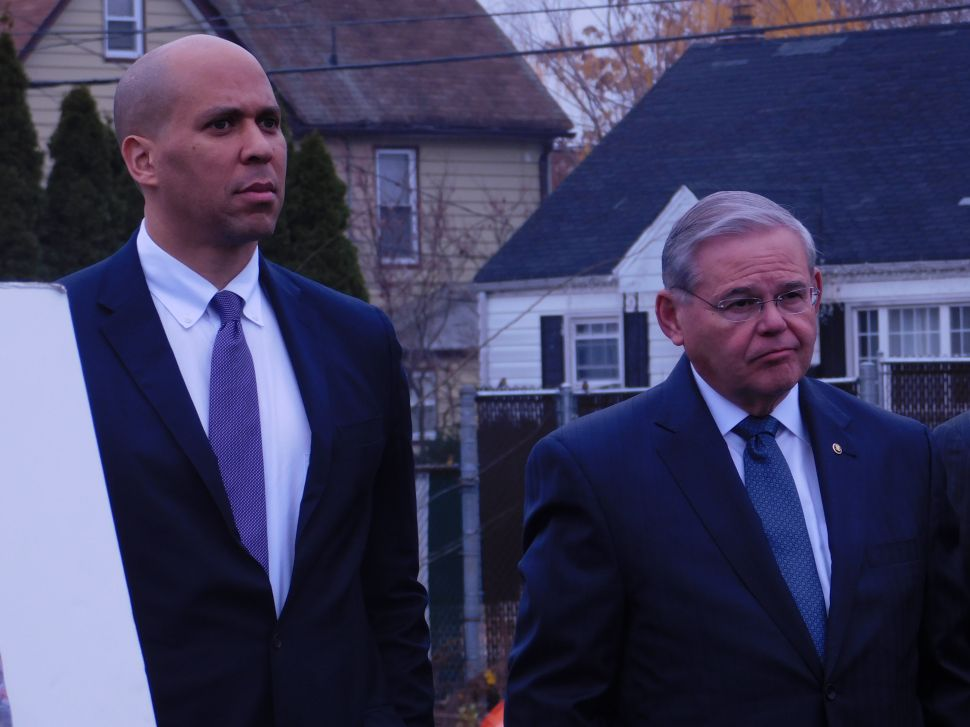 Post-Flint, Menendez, Booker and Pascrell Seek Improved Water Infrastructure