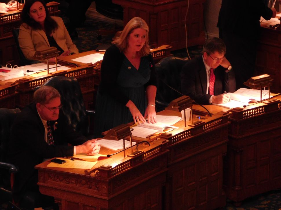 Party Lines Clear as Assembly Dems Try to Override Domestic Violence Veto