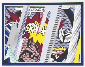 Roy Lichtenstein, Crash (1996)
