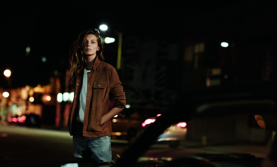 Daria Werbowy Makes Denim Look Good in AG's Spring 2016 Campaign