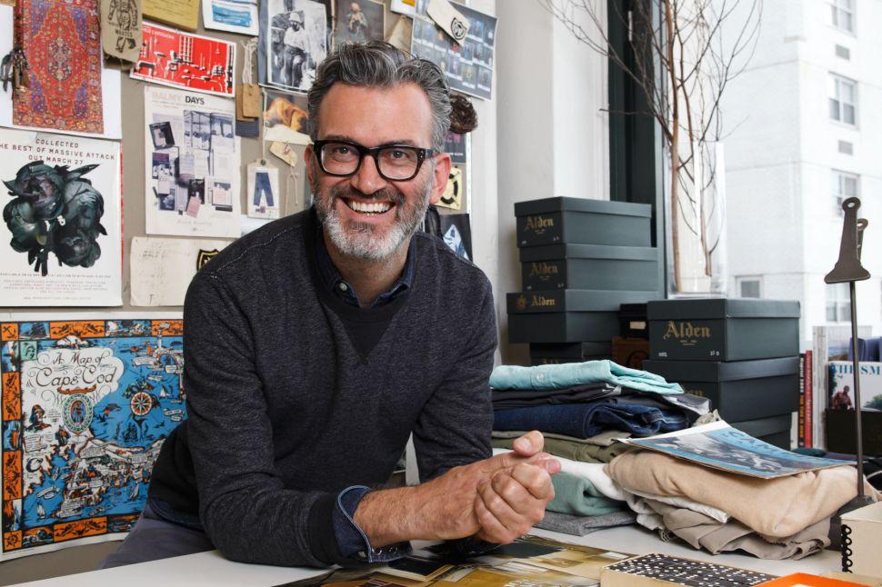 Talking Ugly Christmas Sweaters with J.Crew Men's Designer, Frank Muytjens