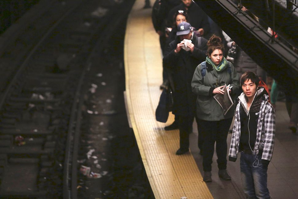 Mind the Gap: MTA Layout at the Brink of Madness