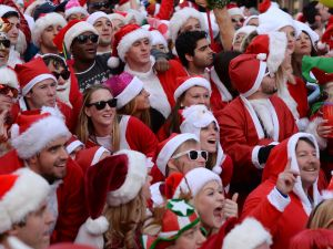 Even warring Santas can use these tips to make Christmas more merry and bright.