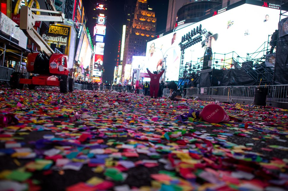 NYPD: After ISIS Attacks, More Cops Will Flood Times Square on New Year's Eve