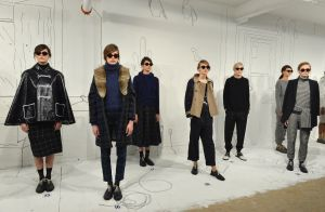 The February 2014 Band of Outsiders presentation (Photo: Slaven Vlasic/Getty Images)