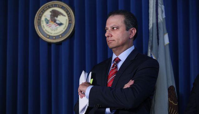 Former Manhattan U.S. Attorney Preet Bharara.