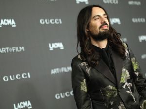 LOS ANGELES, CA - NOVEMBER 07: Gucci Creative Director Alessandro Michele attends LACMA 2015 Art+Film Gala Honoring James Turrell and Alejandro G Iñárritu, Presented by Gucci at LACMA on November 7, 2015 in Los Angeles, California. (Photo by Mike Windle/Getty Images for LACMA)