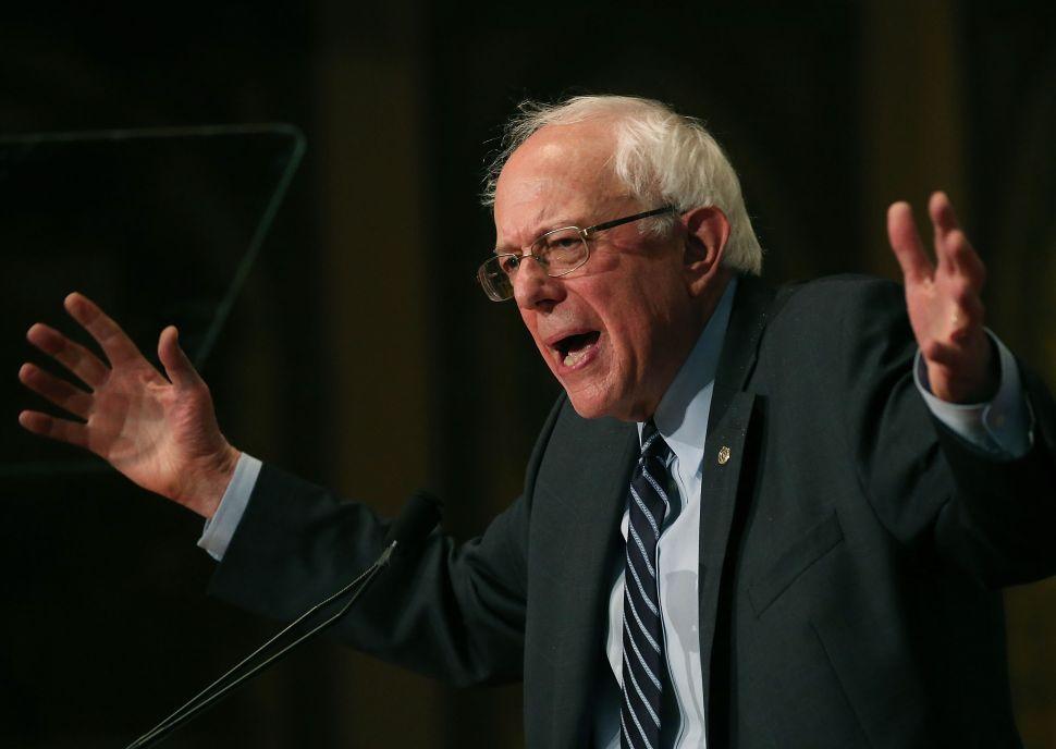 Bernie Sanders Says He'll Combat 'Racist Rhetoric' From Donald Trump