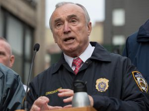 New York City Police Commissioner Bill Bratton.