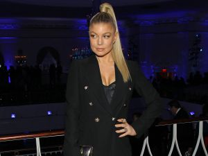 Fergie in her sexy kicks (Photo: Bennett Raglin/Getty Images for Two Ten Footwear Foundation).