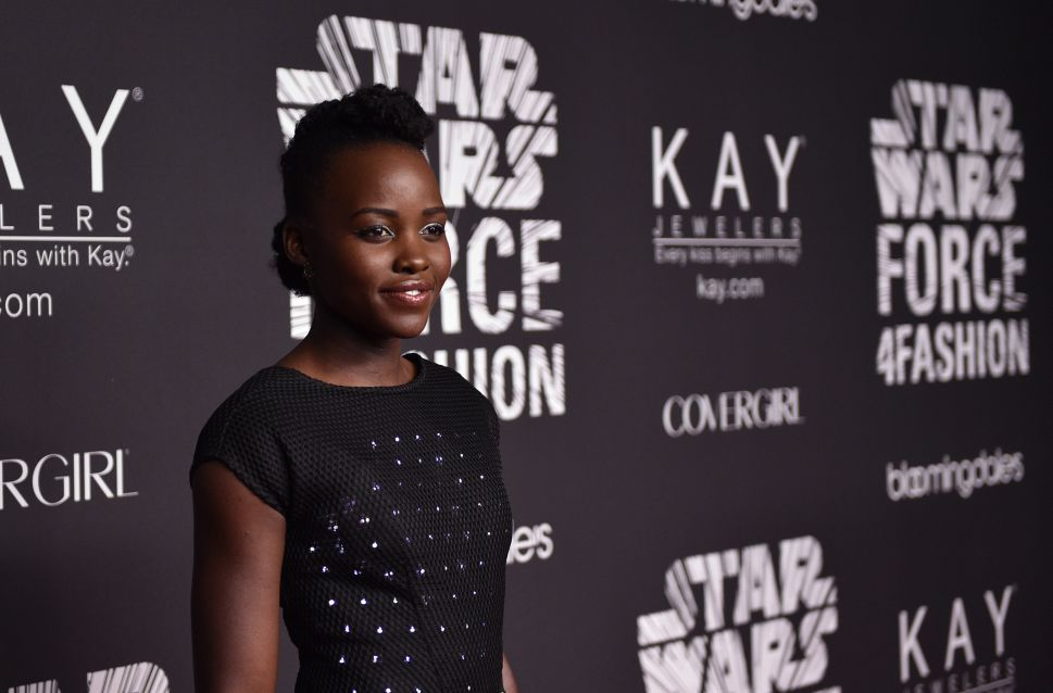 Lupita Nyong'o Literally Glowed in a Dress by Google Last Night
