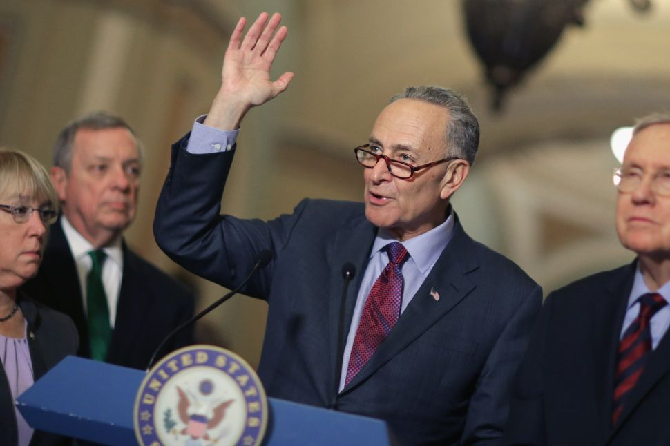 Chuck Schumer Is the New Republican Bogeyman