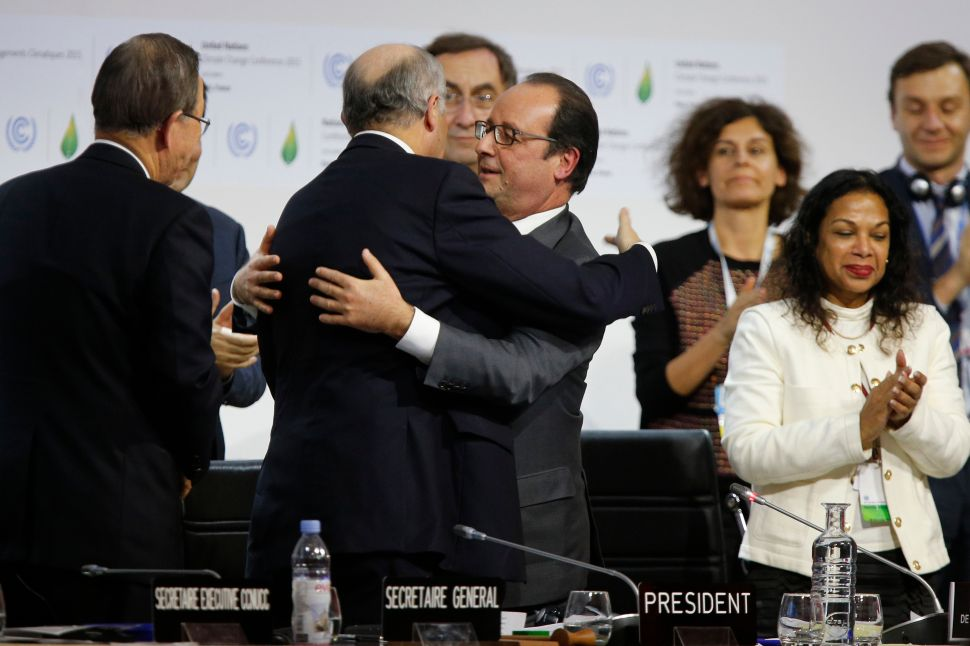 Stormy Weather Ahead: The Paris Agreement Is Only a First Step
